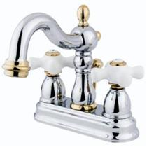 KINGSTON BATHROOM SINK FAUCET POLISHED CHROME KB1604PX