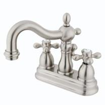 KINGSTON BATHROOM SINK FAUCET SATIN NICKEL KB1608AX
