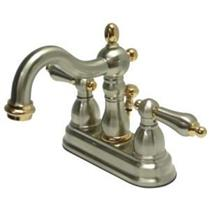 KINGSTON BATHROOM SINK FAUCET SATIN NICKEL KB1609AL