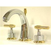 KINGSTON BATHROOM SINK FAUCET POLISHED CHROME KS2964ML