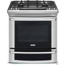 "ELECTROLUX 30"" SLIDE-IN GAS  RANGE EW30GS65GS STAINLESS"