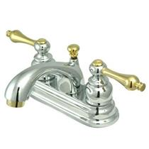 KINGSTON BATHROOM SINK FAUCET POLISHED CHROME KB2604AL