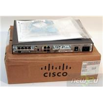 Cisco1805-D Cisco 1805-D Fixed Service Router HWIC-4ESW HWIC-CABLE-D-2 New
