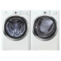 NIB ELECTROLUX IQ-Touch Series Electric Washer and Dryer EIFLS55IIW/EIMED55IIW