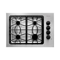 "FRIGIDAIRE  30"" GAS COOKTOP FFGC3025LS STAINLESS SCUFFS ON THE STAINLESS SURFACE"