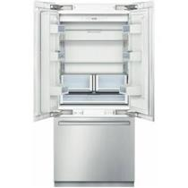 Bosch 36 LED Lighting Sabbath Mode Built-in French Door Refrigerator B36BT830NS