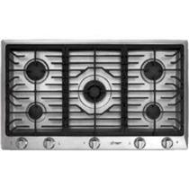 """DACOR DCT365SNG 36"""" Gas Cooktop with 5 Sealed Burners SS Detailed Images (PART)"""
