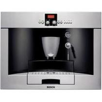 "BOSCH TKN68E75UC 24"" 14 oz Container Fully Automatic Built-In Coffee Machine SS"