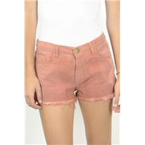 28 NEW Current Elliott Destroyed Boyfriend Fit Nantucket Red Shorts 6007-0155