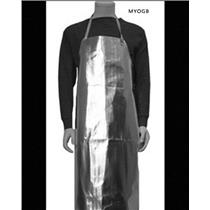 "24"" x 36"" Reflective Bib Apron /Furnace Heat Protection Melt Gold Silver"