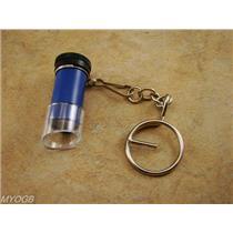 5x Mini Microscope Keychain-Gold Prospectors Tool-Geology-Rock-Ore Loupe *SALE*