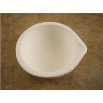 "Fused Silica Melting Dish 2800F-1538C 2-5/8""OD-Gold-Silver-Copper-Jewlery (B101)"
