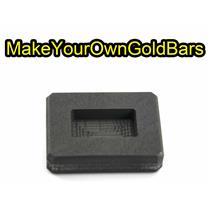 40 Penny Weight Gold  Bar Mold DWT High Density Graphite Old School Loaf Ingot