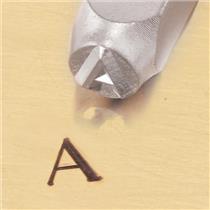 """""""Greek-Alpha-Sign"""" 1/4""""-6mm-Large Stamp-Punch-Metal-Steel-Gold & Silver Bars"""
