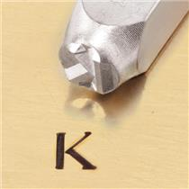 """Greek-Kappa-Sign"" 1/4""-6mm-Large Stamp-Punch-Metal-Steel-Gold & Silver Bars"
