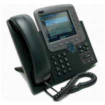 CISCO CP-7970G SCCP 8 BUTTON (LINE) VoIP COLOR LCD TOUCH SCREEN IP PHONE NEW