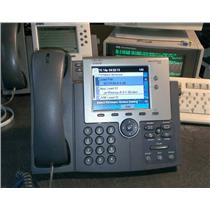 Cisco CP-7945G 7945 Unified IP Phone, Color LCD 5-Inch TFT Display, VoIP