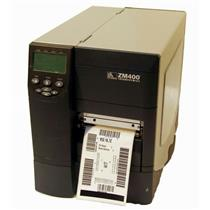 Zebra ZM400 ZM400-2001-0100T Thermal Direct Label Barcode Tag Printer Network