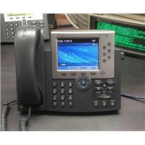 CISCO CP-7965G UNIFIED IP PHONE, COLOR 5-INCH TFT DISPLAY, VoIP CISCO 7965 -USED