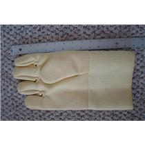 "Professional Kevlar Heat Glove-Furnace Kiln Fire 13"" Right Hand Gold Melt Glass"