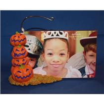 Hallmark Ornament Display 2008 Jack-o-Lantern Pumpkin Photo Holder - #QFO6104