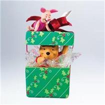 Hallmark Ornament 2011 A Big Present for Piglet - Winnie the Pooh - #QXD1126