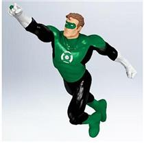 Hallmark Keepsake Ornament 2011 Green Lantern Secret Super Hero QXI2133-SDB