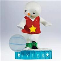 Hallmark Keepsake Ornament 2011 Basketball Superstar Personalize It #QXG4339-DB