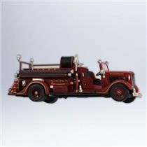 Hallmark Series Ornament 2012 Fire Brigade #10 - 1936 Ford Fire Engine - #QX8204