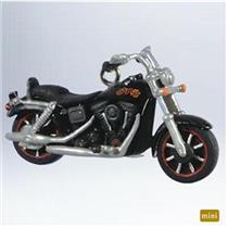 Hallmark Miniature Series Ornament 2011 Harley Davidson #13 1991 #QXM9109-SDB