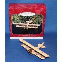 Hallmark Ornament 1998 Sky's the Limit #2 - 1917 Curtiss JN-4D Jenny - #QX6286