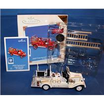 Hallmark Colorway / Repaint Ornament 2003 Fire Brigade #1 - 1929 Chevy - QX8449C
