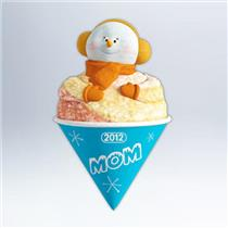 Hallmark Keepsake Ornament 2012 Mom - Snowcone Mom - #QXG4574-DB