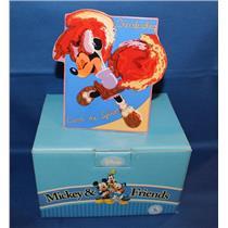 Enesco Plaque Minnie Mouse Catch the Spirit - Cheerleader - Porcelain - #4004857