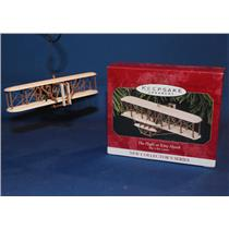 Hallmark Series Ornament 1997 Sky's the Limit #1 Flight at Kitty Hawk QX5574-SDB