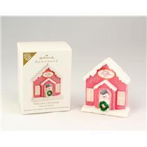 Hallmark Colorway Repaint Ornament - 2011 Welcome Christmas! - #AD4485-SDB