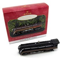 Hallmark 1999 Lionel Trains #4 746 Norfolk and Western Steam Locomotive - QX6377