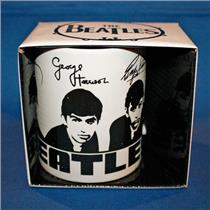 The Beatles Portrait Mug with Signatures  Officially Licensed Brand New #BER0100