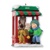 Hallmark Club Series Ornament 2013 Christmas Window #11 - #QXC5056
