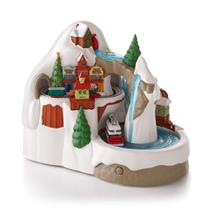 Hallmark Magic Ornament 2013 Steamboat Junction - Sound & Motion - #QXG1762
