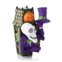 Hallmark Magic Series Ornament 2013 Stand-Up Skeleton #1 - #QFO5202