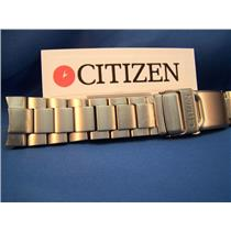 Citizen Watch Band AT0660 22mm Titanium Bracelet w/Push Button Deployment Buckle