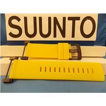 Suunto Watch Band Core Yellow Strap Black buckle / Hardware w/ Attaching T-Bars