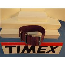 Timex Watch Band 1 Pc Loop Thru Purple 20mm  Strap Steel Hardware