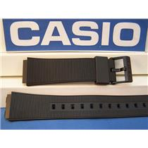Casio Watch Band AQ-50 Black Resin Strap