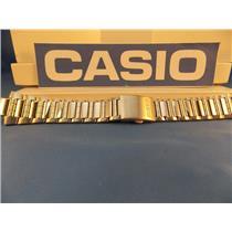 Casio Watch Band AMW-700 D Bracelet. Fishing Gear. All Steel Silver Color