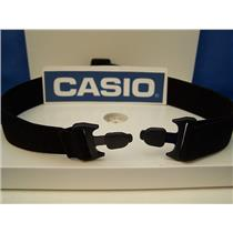 Casio Watch parts CHR-100 Elastic Chest Strap-attaches to heart rate transmitter