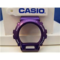 Casio Watch Parts DW-6900 CC-6 Bezel / Shell Shiny Purple G-Shock