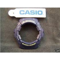 Casio Watch Parts G-100 -2 Bezel/Shell blue With Yellow/White letters