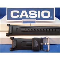 Casio watch band PAG-40.Pathfinder Black Resin Watchband/Strap. And fits PRG-40